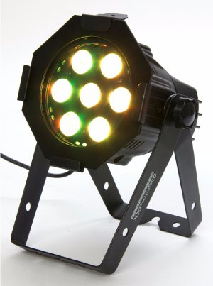 led mini par quad 7x8w rgbw black